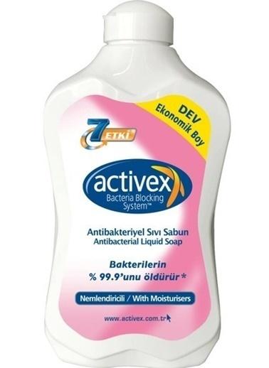 Activex Activex Antibakteriyel Sıvı Sabun Nemlendirici 1500 ml Renksiz
